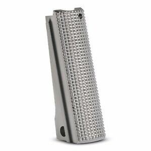1911-Mainspring-Housing-Stainless-steel-Checkered-Full-size-1911-msh