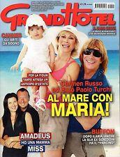 GrandHotel.Carmen Russo,Ilaria D'Amico & Gigi Buffon,Manuela Aureli,Amadeus,iii