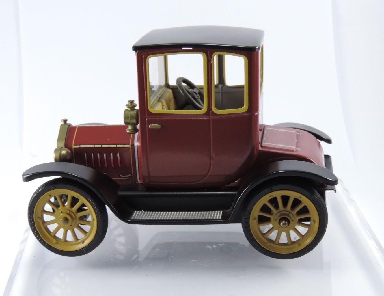 Schuco 1227 Ford coupé T 1917 Rosso-Metallico Vintage