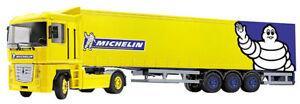 Joal-371-Renault-Magnum-Tractor-w-Michelin-Tautliner-Trailer-1-50-Die-cast-MIB