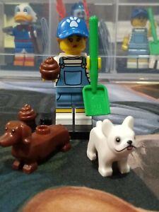 LEGO 71025 New  Bag Series 19 Minifigures Dog Sitter Pet Dog Walker