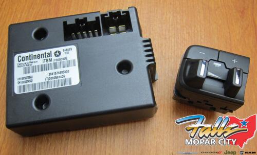 DS 2016-2019 RAM 1500 2500 3500 Integrated Trailer Brake Controller MOPAR OEM