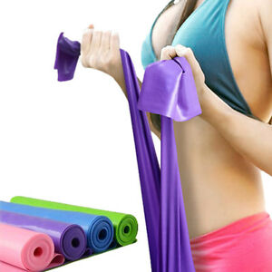 Pull-Up-Fitness-Resistance-Body-Stretching-Band-Loop-Power-Gym-Exercise-Yoga-New
