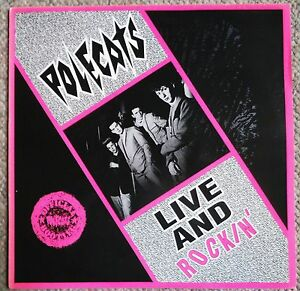 Polecats Live And Rockin Lp Official Bootleg Link Records