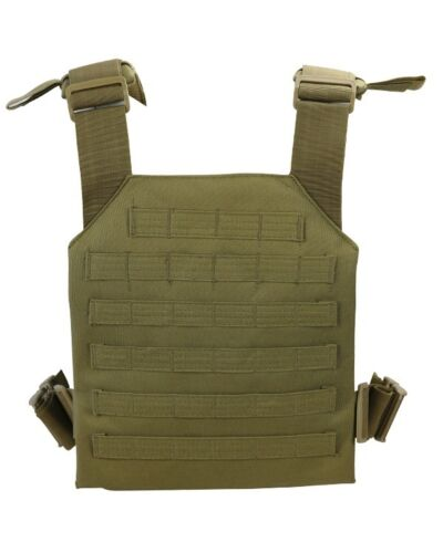 Spartan Plate Carrier Coyote Lightweight Plate Carrier with MOLLE Platform