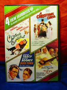 4-Film-Favorites-Classic-Holiday-Collection-Vol-1-1945-amp-2011-Widescreen-DVD