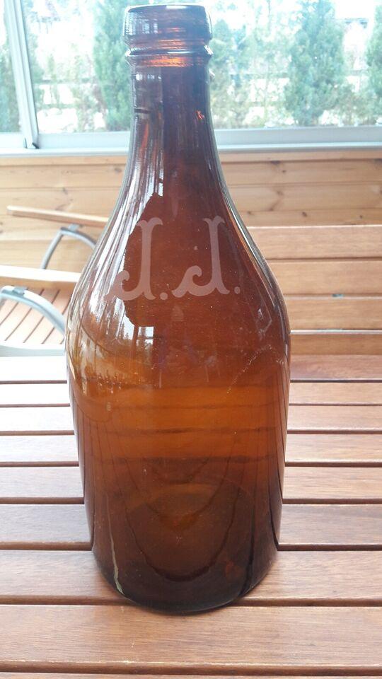 Glas, flasker