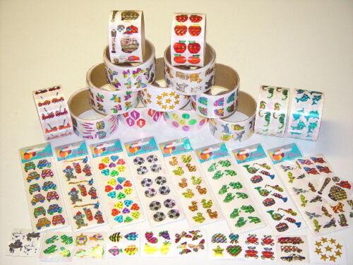100 modules of assorted kids stickers party favor sticker teacher reward sticker