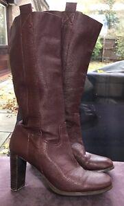 Soft Leather 6 Burgundyox Blood Office Knee Eu39 Blood Slouchy Uk Boots Length jqzLSVGUMp