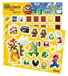 Super-Mario-Maker-for-Nintendo-3DS-Magnet-Set-New-Sealed