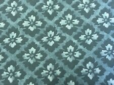 Sky Blue FQ Fat Quarter Fabric Flowers Floral Blended100/% Cotton Quilting