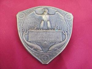 1904-ANTIQUE-USA-BRONZE-MEDAL-ORDER-GOLD-MEDAL-LOUISIANA-PURCHASE-EXPOSITION