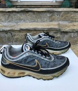 Details about NIKE Air Max 360 II Black Gold Silver Camouflage 315380 001 Mens Sz 9.5