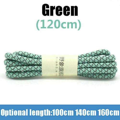 3M Laces Rope Athletic Shoelaces Reflective Strings Sneakers Shoe Round Sports