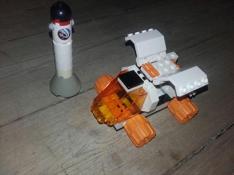 Lego andet, mars-bil & raket