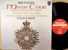 PHILIPS HOLLAND PROMO Beethoven COLIN DAVIS Mass in C EDA-PIERRE TEAR 9500 636