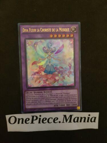 Yu-Gi-OH Diva Fleur La Choriste De La Musique MP16-FR020 1st