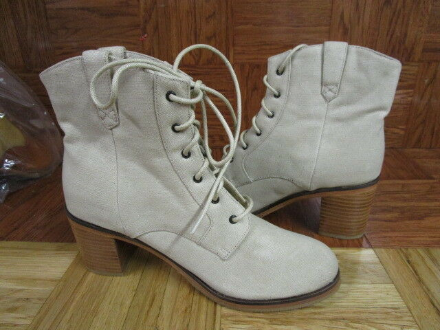 f56cee4290b Wolverine Women's 1000 Mile by Samantha Pleet Taupe Lace Up Ankle Boots  Size 7 M