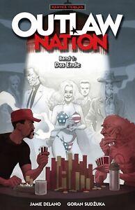OUTLAW NATION #1+2+3 kpl. deutsch JAMIE DELANO+SUDZUKA+PARLOV Vertigo Hellblazer