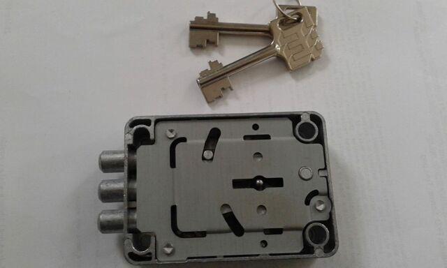 Tresorschloss l KABA MAUER 71111 VDS 1 Mit 2 Schlüssel 120mm