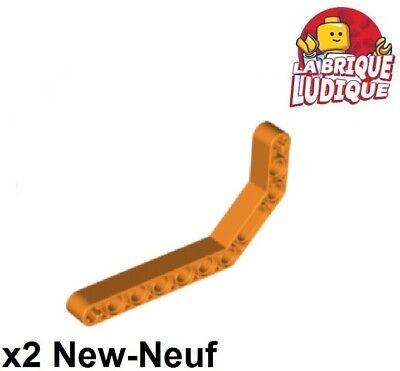 LEGO TECHNIC Grey Liftarm 1 x 11.5 Double Bent Thick Beam 32009
