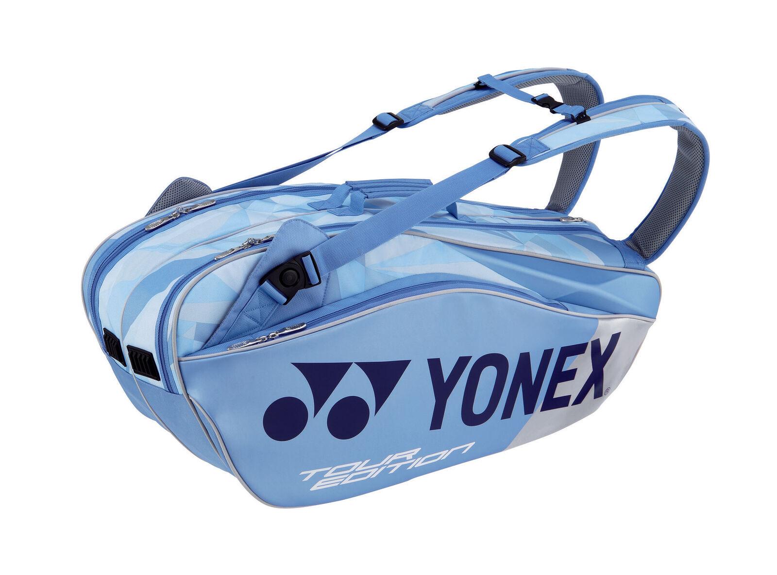 .YONEX BAG 9826 clear Blau Tasche Badminton Tennis Squash Schläger