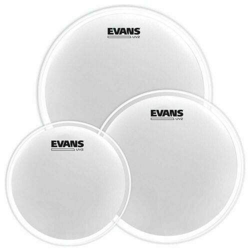 Evans UV2 Coated Drum Head Rock Pack 10,12,16
