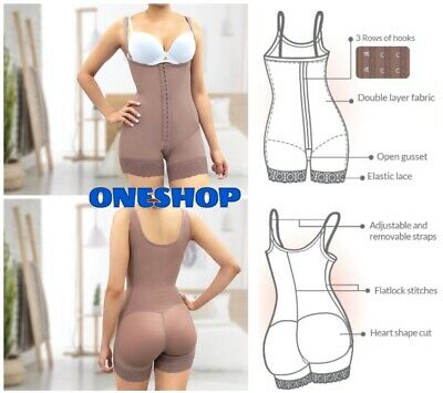 Logical Post Surgical Full Body Shaper Faja Liposuction Control Tight Tummy Second Stage And Digestion Helping Shapewear