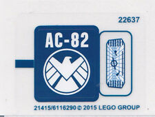 LEGO 76036 - Super Heroes - Carnage's SHIELD Sky Attack - STICKER SHEET