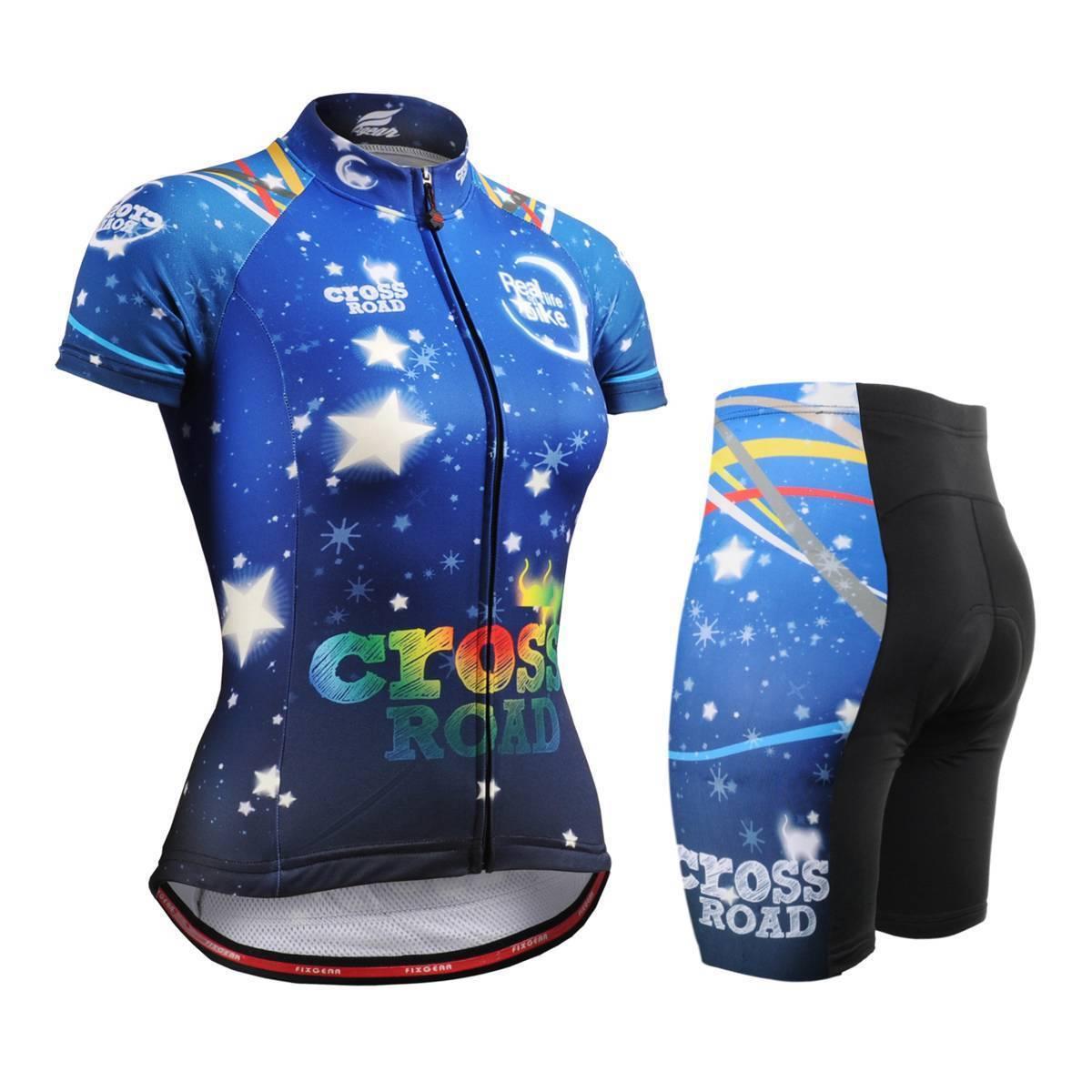 Fixgear CS - w2302 - set bicicletas femeninas y calzoncillos cortos MTB BMX