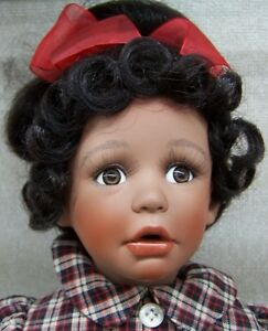 034-Tammy-034-17-Inch-Tall-Porcelain-Doll-Paradise-Galleries-Doll-Chair-Included