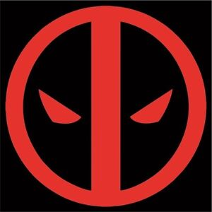 Deadpool vinyl sticker decal logo avengers marvel dead pool wade wilson comic