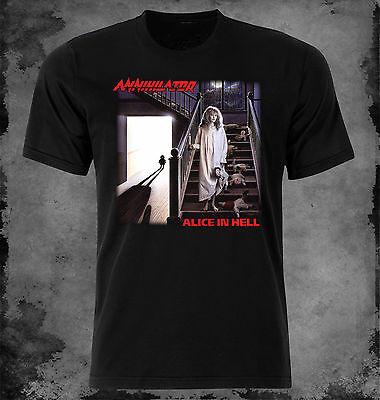 Annihilator Alice In Hell 1989 Album Cover T-Shirt