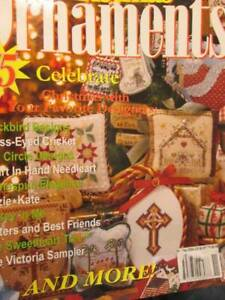 Cross-Stitch-Christmas-Ornaments-2004-Magazine-75-Designers-All-Shown