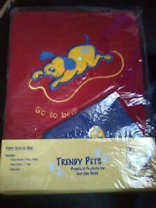 Brand New, Puppy Starter Pack, Contient: 1 Couverture, 1 Serviettes Et 1 Wash Mitt. B-afficher Le Titre D'origine Saveur Aromatique