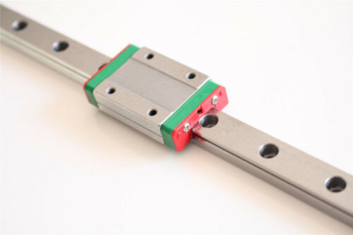 CNC Part MR9 9mm Linear Rail Guide MGN9 100-550mm MGN9H MGN9C Slide Block