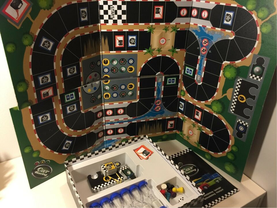 Car Racing, Familiespil, brætspil
