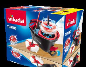 Vileda-Turbo-EasyWring-amp-Clean-KomplettSet-Wischmop-Eimer-Bodenwischer-Reiniger