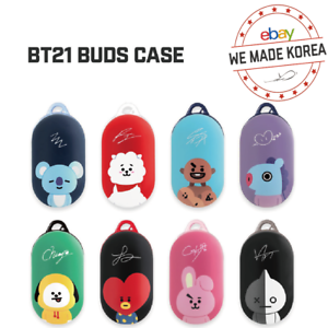 BT21-Character-Buds-Case-Hard-Cover-Ver-2-8types-Official-K-POP-Authentic-MD