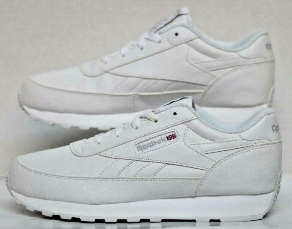 Rebook CL Renaissance WIDE 4E White Steel V67020 Men Size's