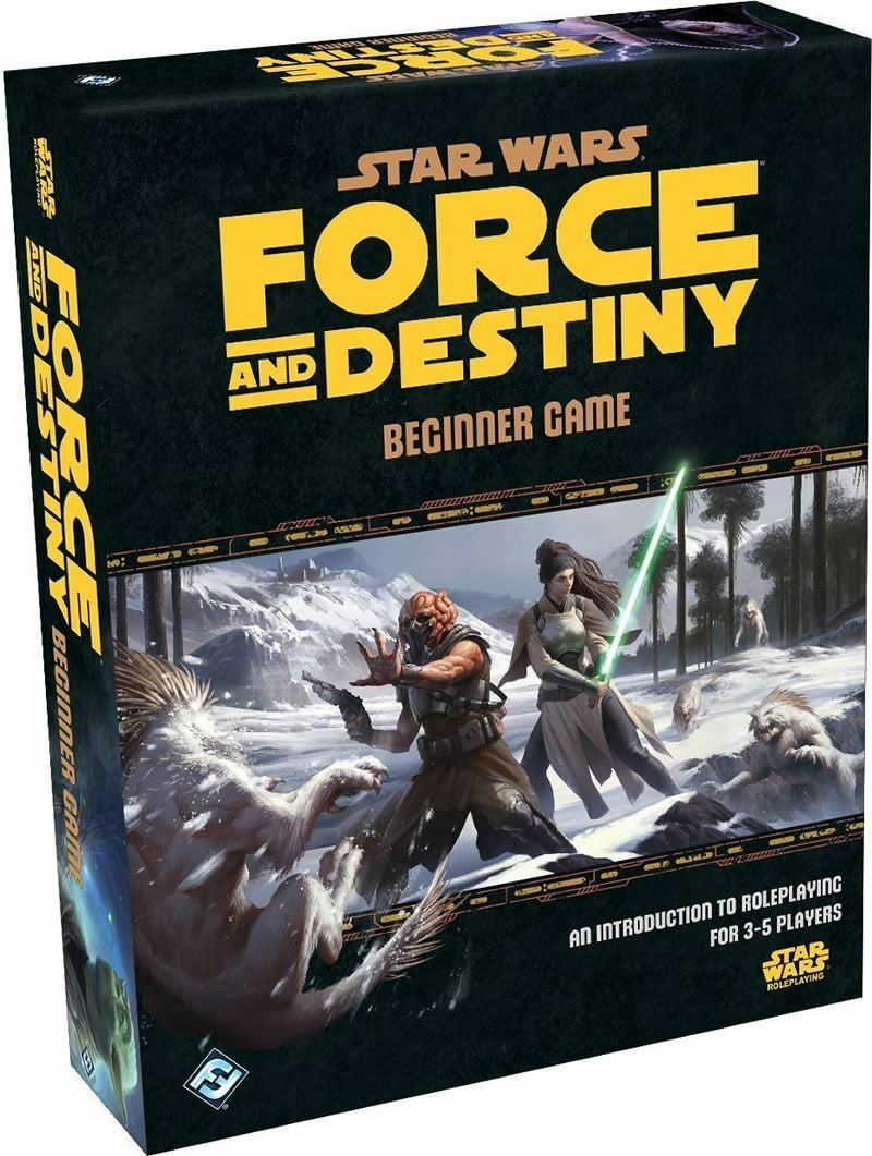 STAR WARS FORCE AND DESTINY BEGINNER GAME STAR WARS ROLE PLAYING GAME