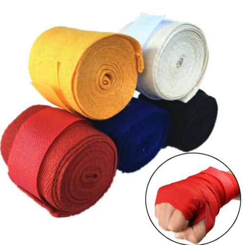 Thumb Loop Training Hook Glove Wrist Protector Fist Bandage Boxing Hand Wraps