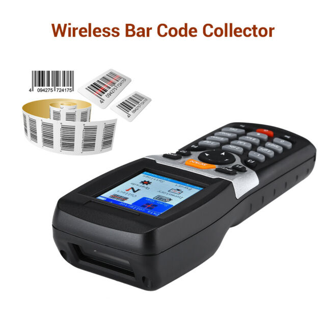 4 in 1 Barcode Scanner Data Terminal Collector Inventory Mode Battery Powered