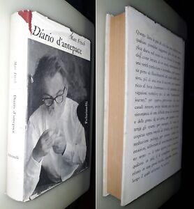 Diario-d-039-antepace-Max-Frisch-1-Ed-Feltrinelli-1962