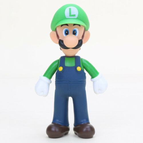 Super Mario Bros Figure 13cm Action Figurine Luigi Yoshi Goomba Kids Toys Wario