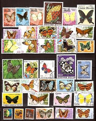 All Countries All The Species Of Butterflies H287 Save 50-70%