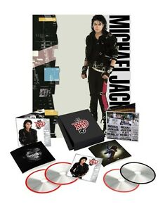 3-CD-DVD-MICHAEL-JACKSON-BAD-25th-ANNIVERSARY-DELUXE-EDITION-POSTER-FOTO-BOOCK