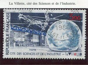 STAMP-TIMBRE-FRANCE-OBLITERE-N-2409-LA-VILETTE-SCIENCE