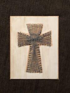 Crossstring art