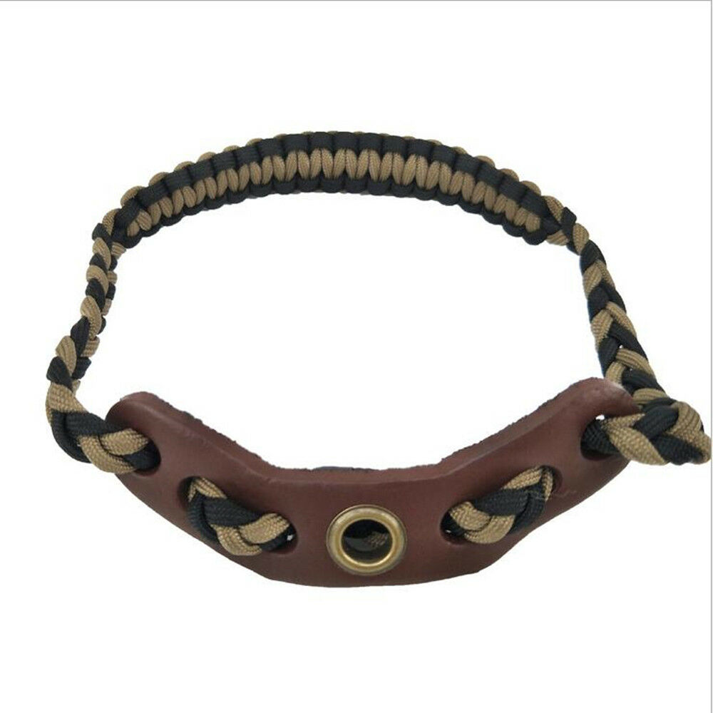 Convenient Durable Hunting Archery Compound Bow Wrist Sling Strap